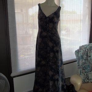 J. Crew Dresses - J. Crew Silk Double V Floral Maxi Sun Dress Sz 6